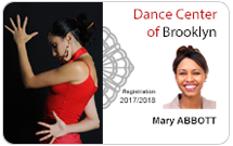 Club membership cards - Dancing
