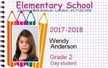 Education Badges and ID cards