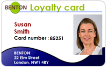 Store and shop Loyalty Cards