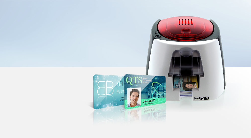 The Badgy Plastic ID Card & Badge Solution