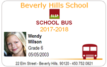 Bus Pass ID Cards